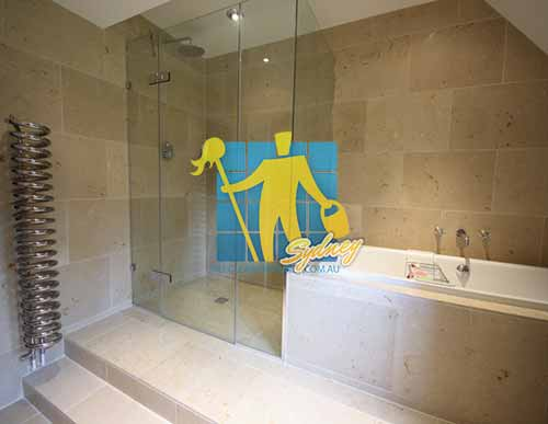 Limestone Floor Tile Siena Honed Shower Cleaning