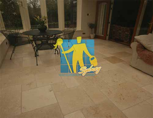 Limestone Floor Tile Siena Tumbled Cleaning