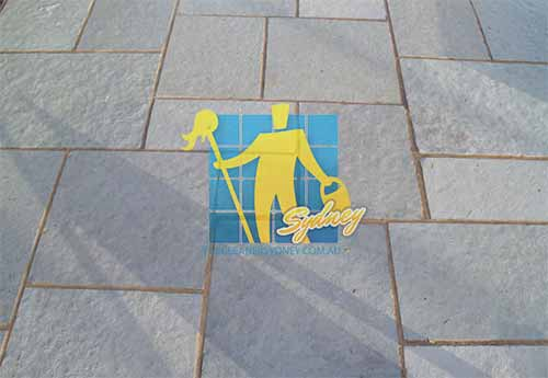 Limestone Paving Cleaning