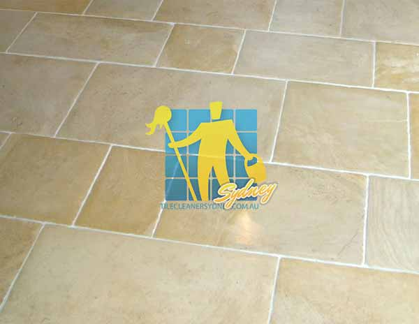 limestone tile sealing old english