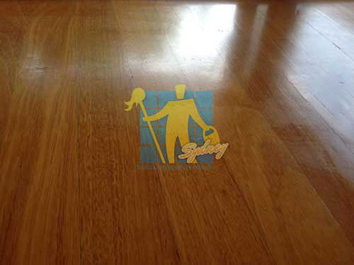 timber floor waxing