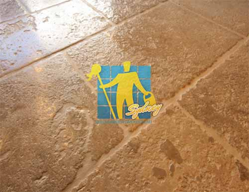 flagstone tile french bourgounge sample sealed