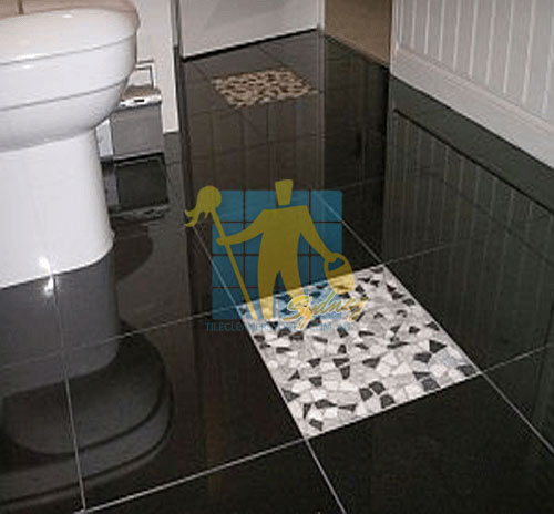 polished_granite_tile_floor_in_bathroom_black_with_one_white_tile
