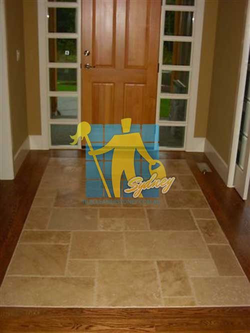 grinding travertine tiles floor