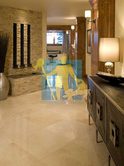 polished honed and travertine floor for home