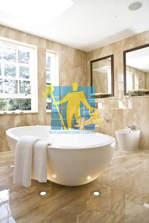 polished brown bathroom marble floor