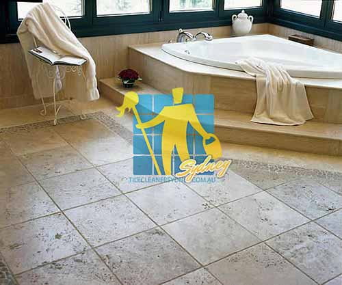 cleaning travertine tiles in sydney