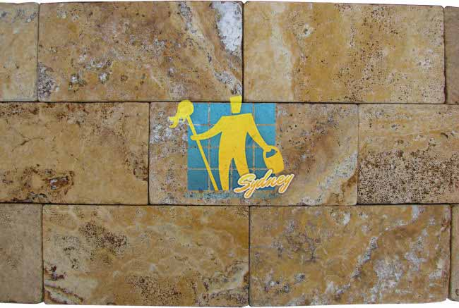 Giallo Gold Tumbled Travertine Paver Sydney